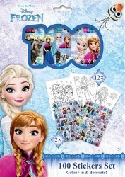 Frozen 100 Stickers Holograf