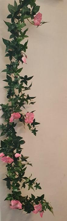 Girlang Blomma För Dagen - Rosa