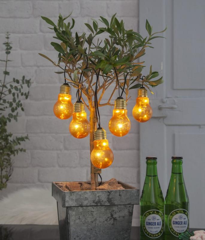 Glow Ljusslinga LED - Amber