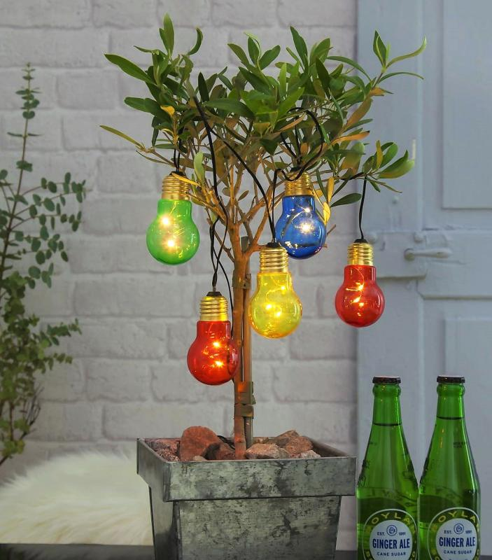 Glow Ljusslinga LED - Multi