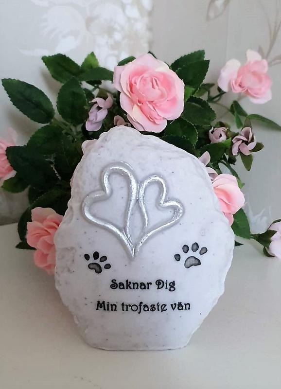 Gravdekoration Hund - Min Trofaste Vän