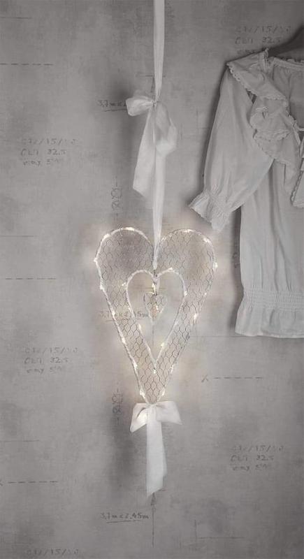 Hjärta Dubbla Hjärtan 50cm