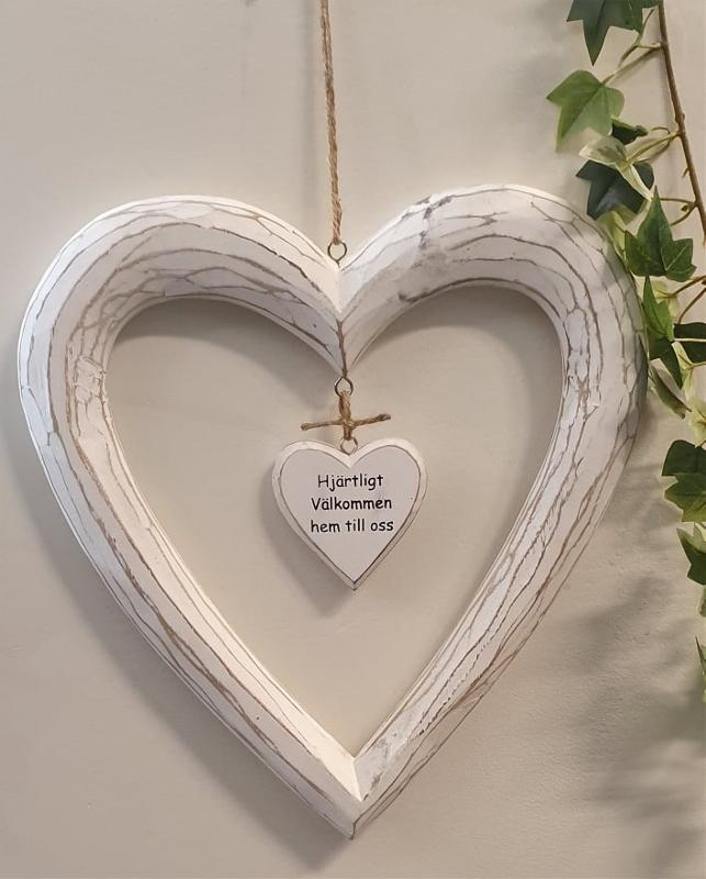 Hjärta - Hjärtligt Välkommen Hem Till Oss