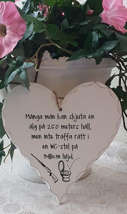"""Hjärta """"Många män..."""""""