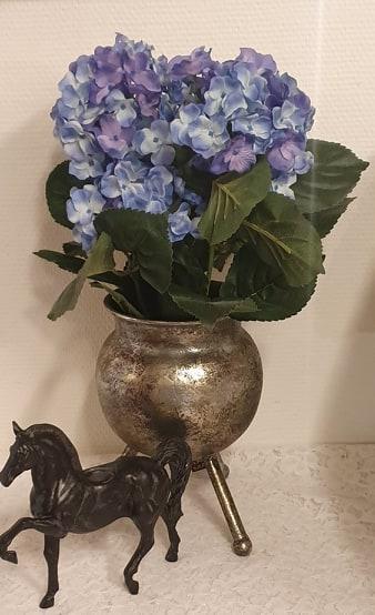 Hortensia - Blå - 37 cm