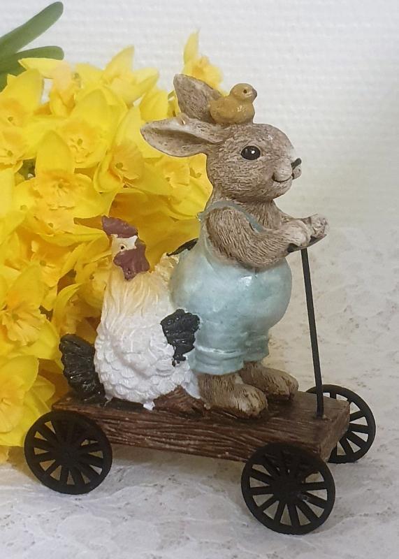 Kanin Och Höna På Kärra