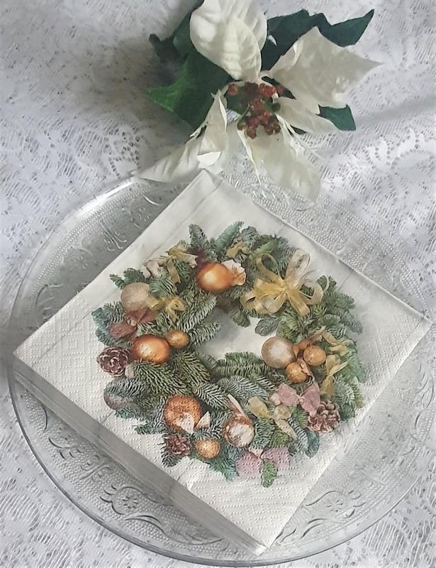 Julservetter Krans