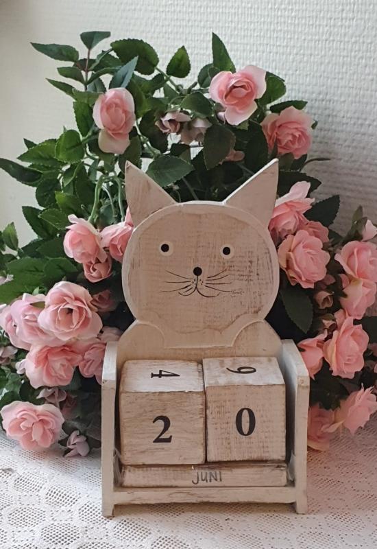 Kalender Katt - Antikvit