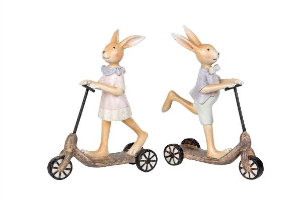 Kaniner På Cykel