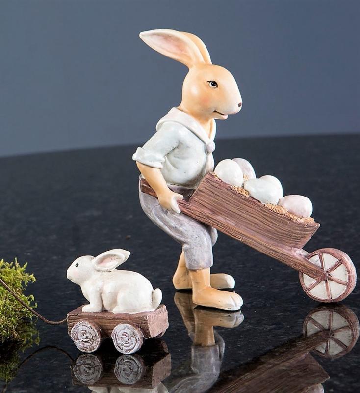Kaninpar Kärra & Vagn 2 - Pack