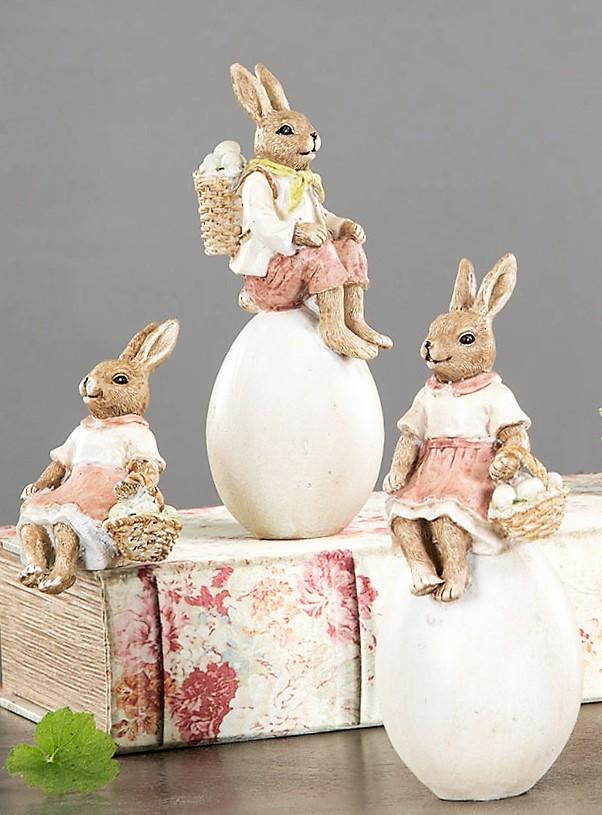 Kaninpar På Ägg