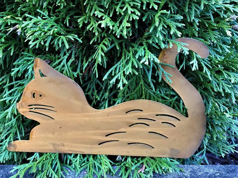 Katt Stick Liggande - Rost
