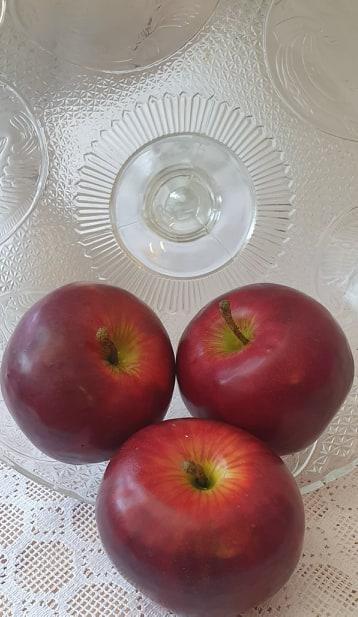 Äpple Rött - konstgjord Frukt
