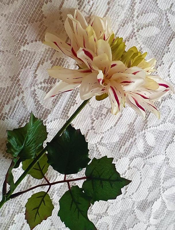 Konstgjord Dahlia Lila - 45 cm