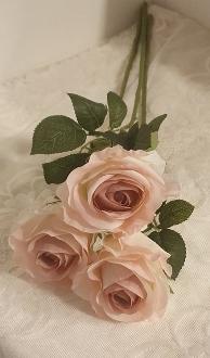 Konstgjord Ros Ljusrosa