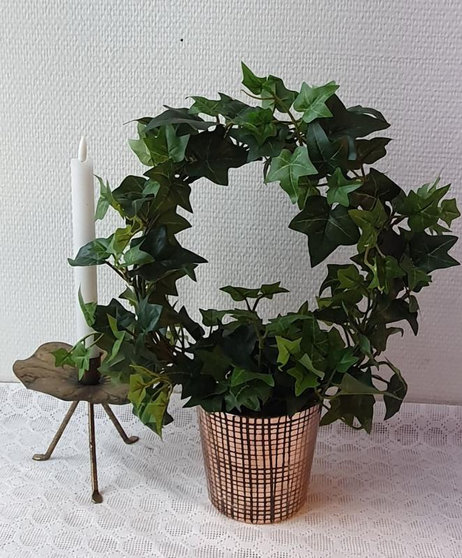 Konstväxt Murgröna På Båge 35 cm