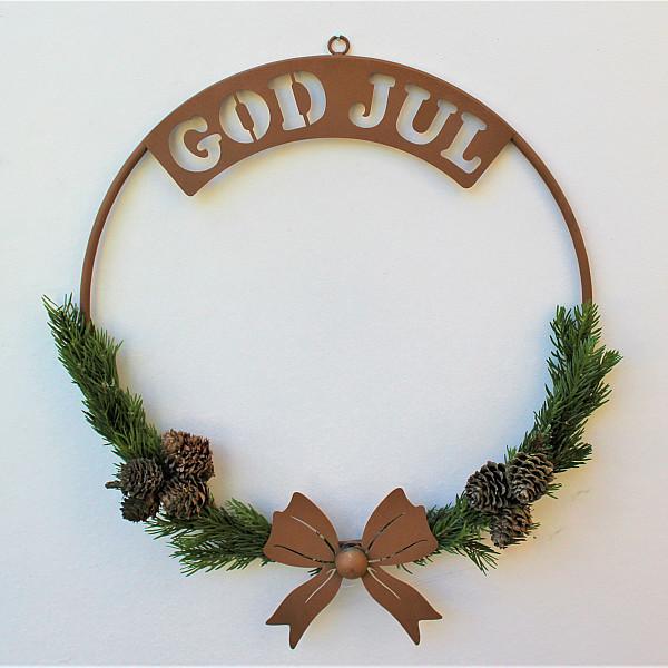 Krans God Jul Rost