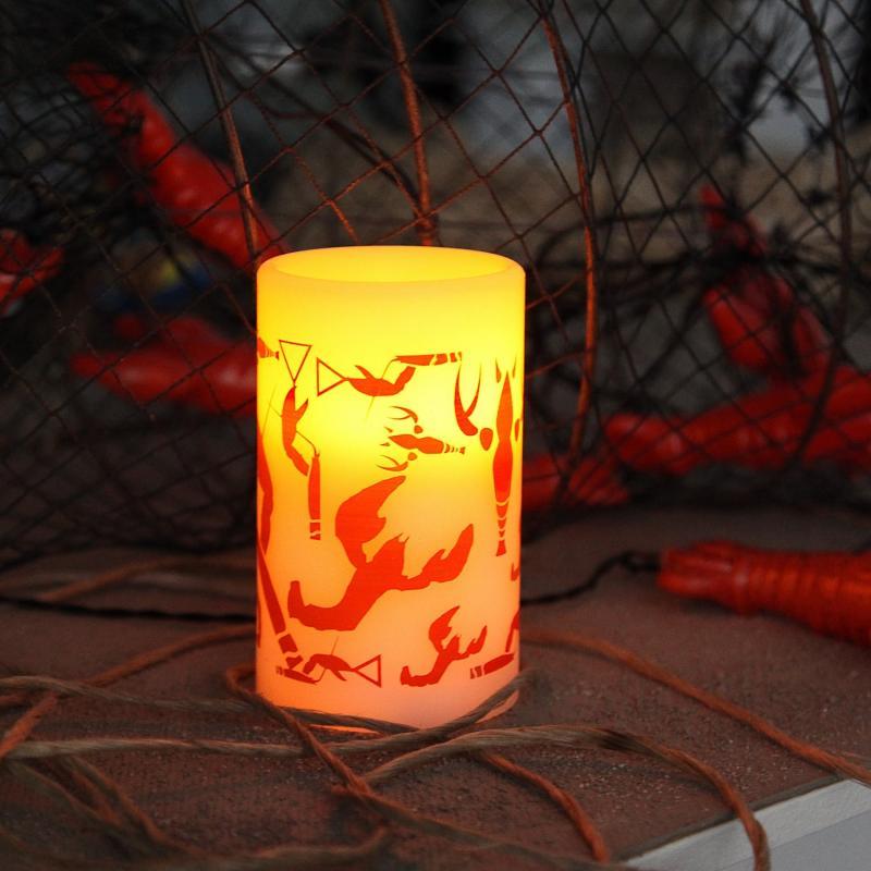 LED Blockljus Crayfish