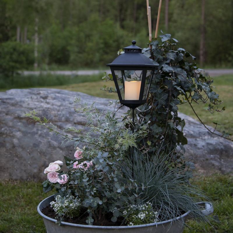 LED Gravljus - Svart