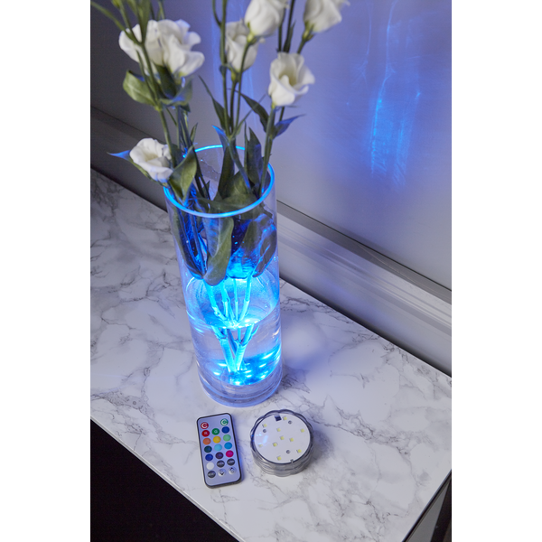 LED Ljus Water Candle - Multifärgat