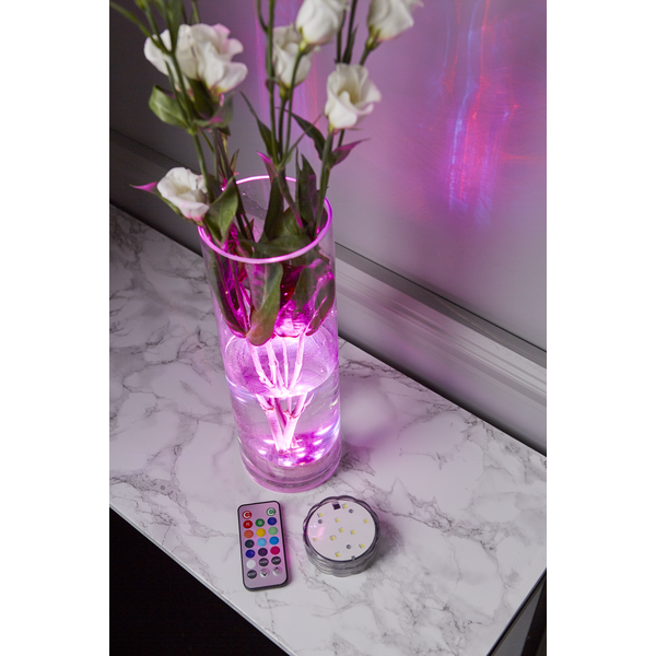 LED Ljus Water Candle - Flerfärgad