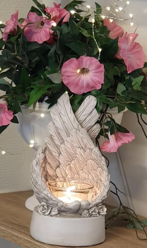 Ljushållare Änglavinge Antik