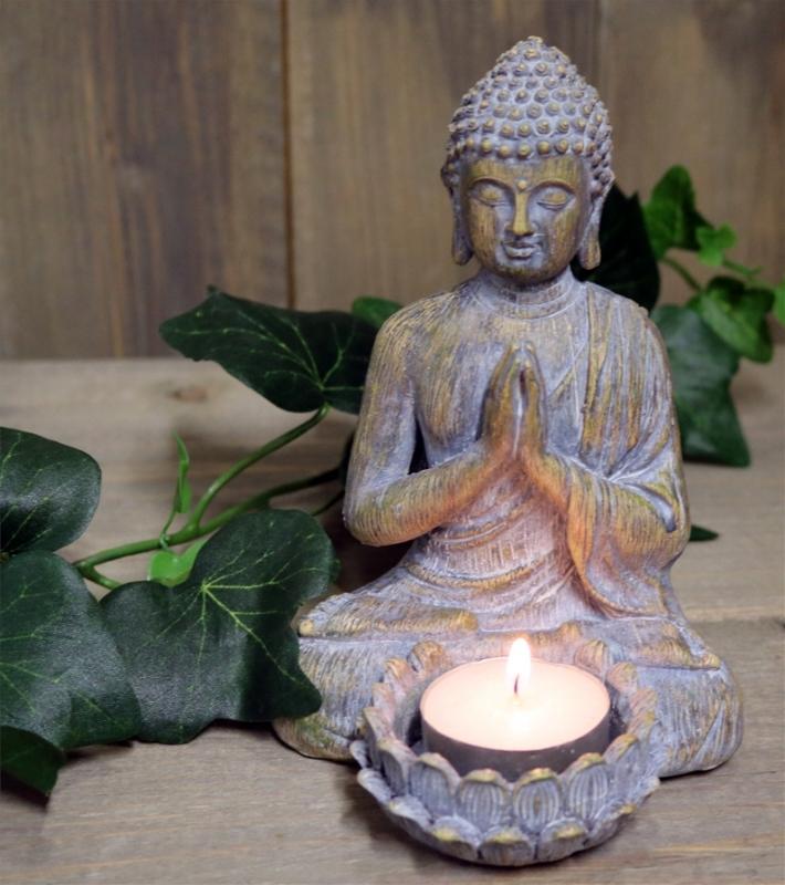 Ljuslykta Buddha