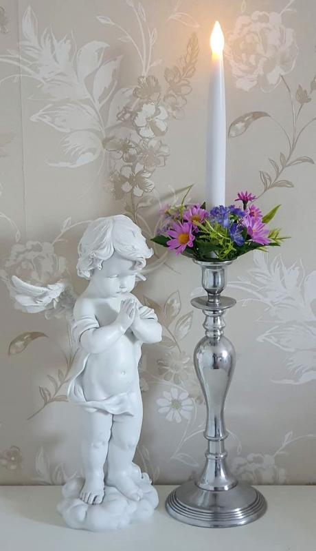 Ljusmanschett Blommor
