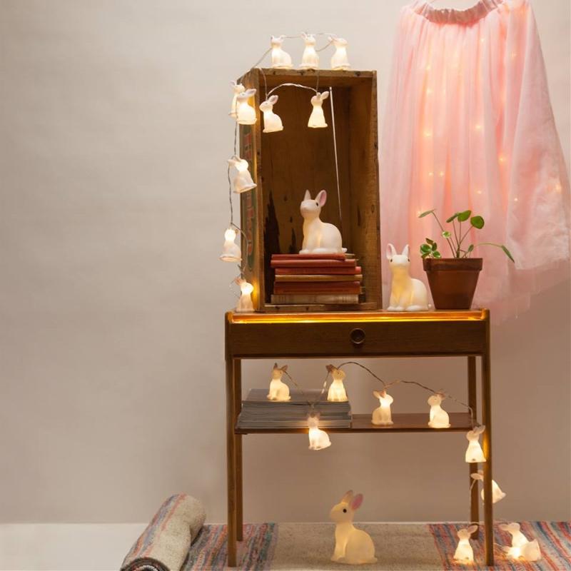 Ljusslinga LED Kaniner