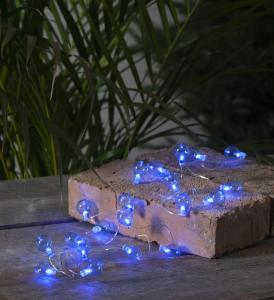 Ljusslinga Utomhus Batteridriven - Blå