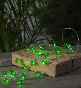 Ljusslinga Utomhus Batteridriven - Grön