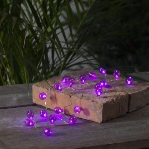 Ljusslinga Utomhus Batteridriven - Lila