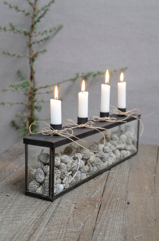Ljusstake Adventbox