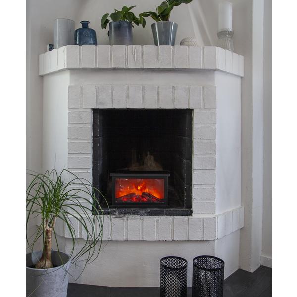 Lykta Fireplace Rektangulär
