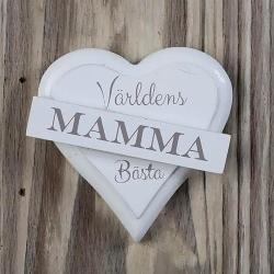 Magnet hjärta - MAMMA