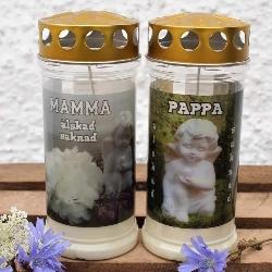 Minnesljus Mamma/Pappa