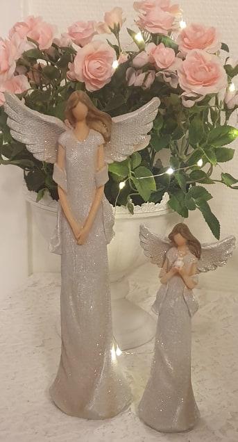 Ängel Beige Med Glitter