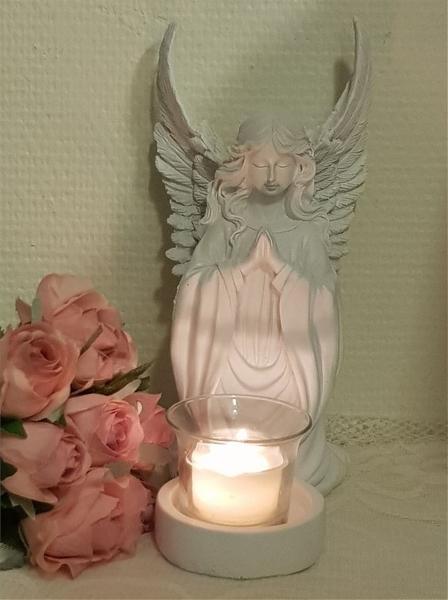 Ängel Ljushållare