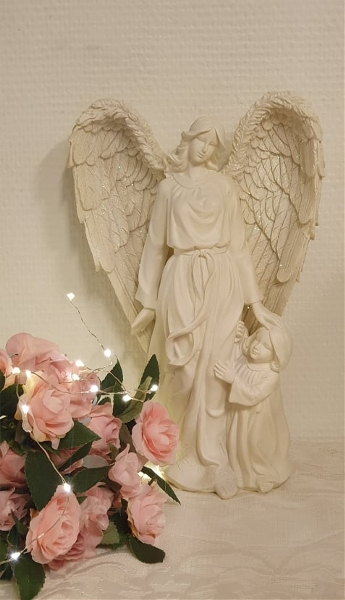 Ängel Med Barn
