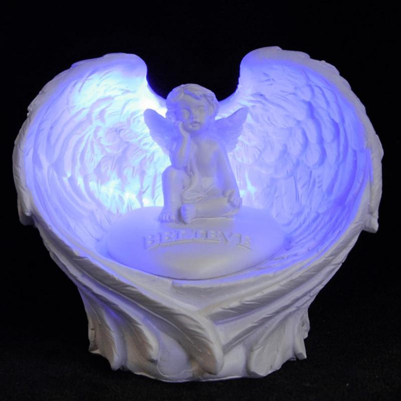 Ängel Med LED-lampa Believe