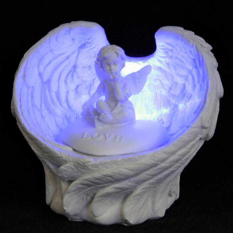 Ängel med LED - Lampa Love