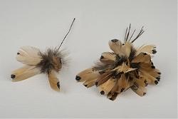 Ljusbrun påskfjäder