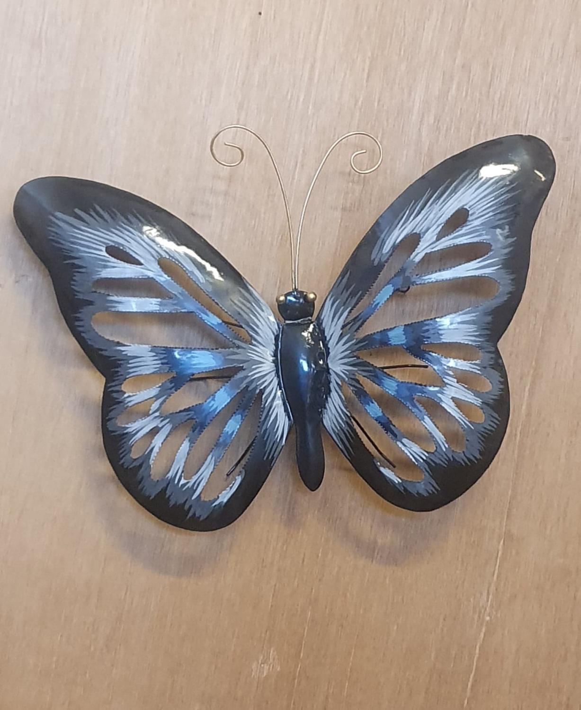 Plåt Fjäril