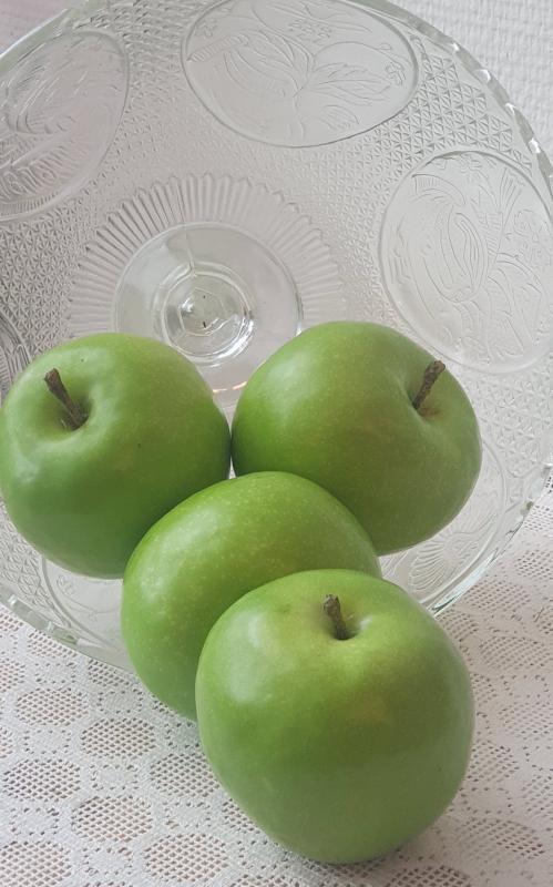 Äpple Grönt - konstgjord Frukt
