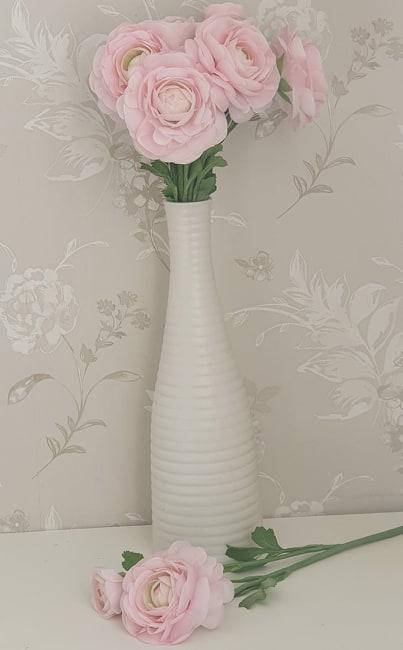 Ranuncel - Rosa - 45 cm