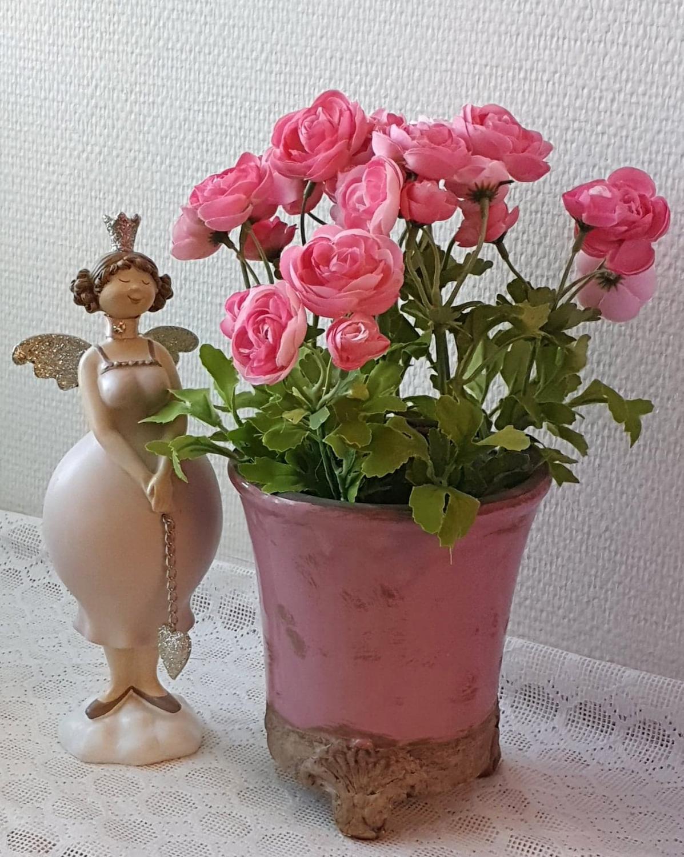 Ranunkel - Pink - 30 cm
