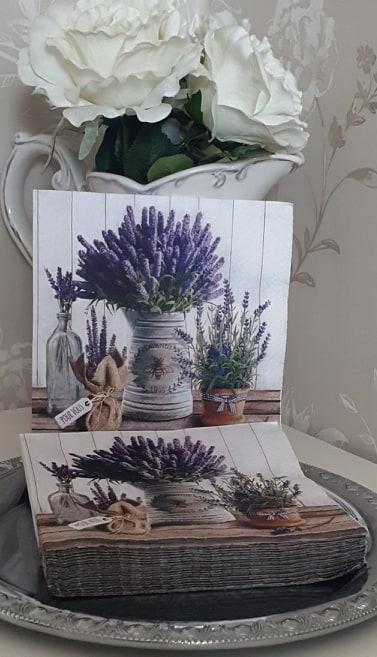 Servetter Lavendel