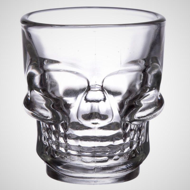 Shotglas Dödskalle 2-pack