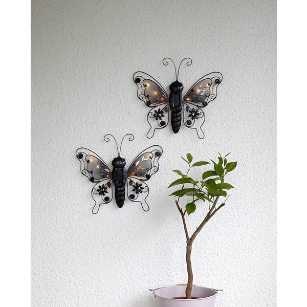 Solcellsdekoration Butterfly