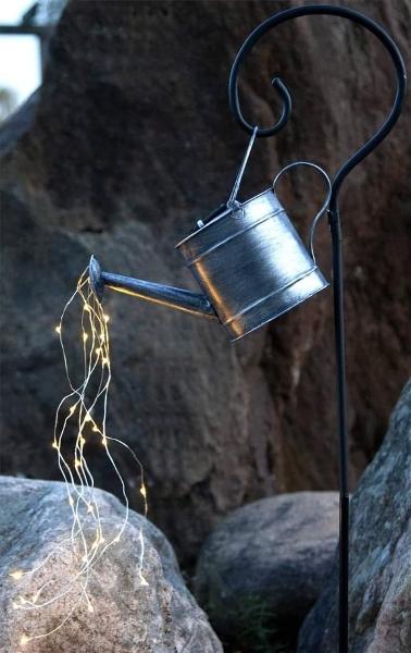 Solcellslampa Dew Drop Vattenkanna